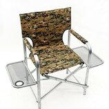 Раскладное кресло Режиссер - 2 , две полочки, ножки