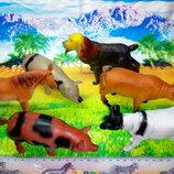 Новинка Набор Ферма - домашние животные фигурки игрушечных животных