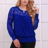 Блуза 56,58,60,62 размеры 6 расцветок