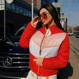Укороченная куртка в стиле LV