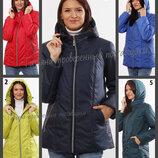 40-72 Женская демисезонная куртка, капюшон. женская куртка. весна осень. куртка недорого, большие