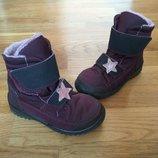 Демисезонные термо ботинки сапожки полусапожки чобітки ricosta