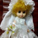 кукла Ссср невеста .редкая