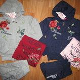 Спортивный костюм тройка для девочки, 8-16, польша