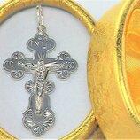 Крестик серебро 925 проба 3,23 грамма