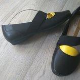 Кожаные туфли Clarks, новом сост 1 раз одеты