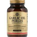 Solgar, Чесночное масло Perles, концентрат , 250 мягких капсул