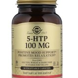 Solgar, 5-гидрокситриптофан, 100 мг, 90 вегетарианских капсул. Солгар 5htp, 5-htp, 5-нтр