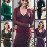 42-48 Чудова сукня жіноча. Вязана жіноча сукня. Вязаное платье ажурной вязкой.