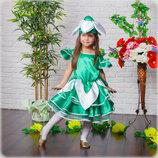 Детское платье подснежника от 3 до 6 лет