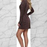 Платье со шнуровкой 4 цвета 42,44,46,48,50 размеры