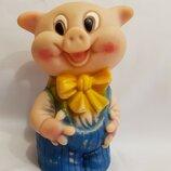 Резиновая игрушка Ссср свинка поросенок большой