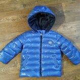 р.92-98, отличная термо-куртка пуховик