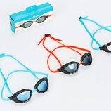 Очки для плавания MadWave Triathlon 042704 поликарбонат, силикон, 3 цвета