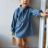 Платье джинсовое тонкое