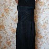 Стильное,строгое платье. на бирке- 46 р-р