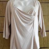 Блуза трикотаж, новая размер 20 идет на 54-56.