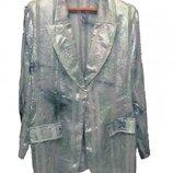Роскошный пиджак Франция большой размер XL-XXL