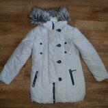 next Зимнее пальто, удлиненная куртка Некст на 10 лет рост 140 см