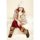 Сапоги женские Crocs Modessa Furry р. W 8 наш 38-39 по стельке 25,5 см
