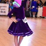 Бейсик рост 110 116 122 платье для танцев бейзик