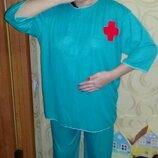 Карнавальный костюм Доктора на взрослого.