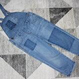 Легкий джинсовый комбинезон I love Next на 2-3 года рост 98 см