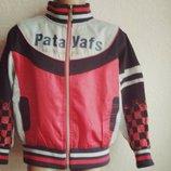 Детская Куртка ветровка-мастерка Pataya kids 6-8 лет