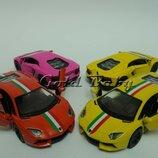 Металлическая машинка Lamborgini Aventador LP 70-4