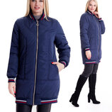 Модная куртка рр 42-56 демисезонная от производителя sku-1 синий бомбер