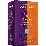 Кофе Löfbergs Prezzo Mellanrost, молотый, 450 грамм, 100% арабика, Швеция