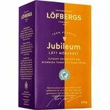 Кофе молотый Löfbergs Jubileum 450 грамм, 100% арабика, Швеция