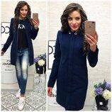 Женское кашемировое пальто Megan Fox весна-осень подкладка на синтепоне 50-56р