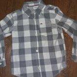 Рубашка в клетку, хлопок Carter's 5т 104-110 см