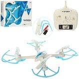 Квадрокоптер A-Toys Tarantula Spider X-1505 на радиоуправлении Бело-Голубой 20181005V-505