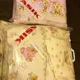 Комплект Asik защита карман одеяло подушка простынь и сменный комплект подарки