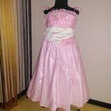Платье нарядное для девочки р.116-122-128