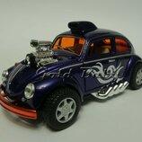 Новинка Модель машинки Volkswagen Beetle Custom Dragracer