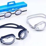 Очки для плавания MadWave Stalker 041904 поликарбонат, силикон, 2 цвета