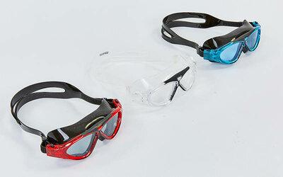 Очки для плавания Speedo 8800 очки полумаска поликарбонат, силикон, 3 цвета