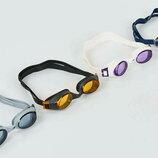 Очки для плавания Speedo Rapide 384564 поликарбонат, силикон, 4 цвета