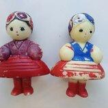 Кукла ссср Киев Победа фигурка колкий пластик украиночка