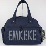 Легкая спортивная, дорожная сумка emkeke 108 синяя, расцветки