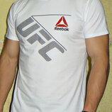 Спортивная футболка Reebok UFC белая.