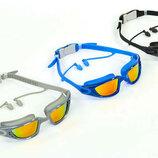 Очки для плавания с берушами Speedo 88S-A очки с берушами поликарбонат, TPR, силикон
