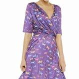 Платье 22р.Dahlia 'Purple Horse Платье с принтом.5xl