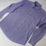 George. Рубашка в фиолетовую полоску. Ворот 41 см