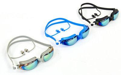 Очки для плавания с берушами Speedo 95S-A очки с берушами поликарбонат, TPR, силикон