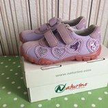 Стильные кроссовочки naturino 23p.