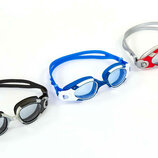 Очки для плавания Classic 1200 поликарбонат, силикон, 3 цвета